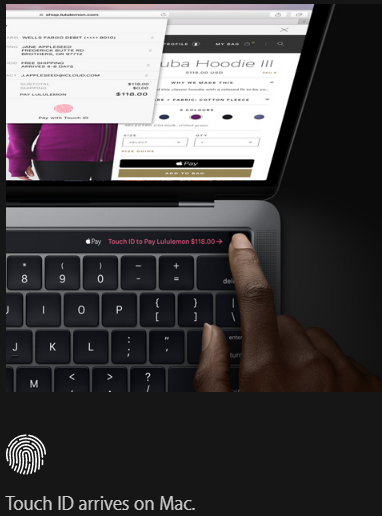 MacBookPro Touch ID