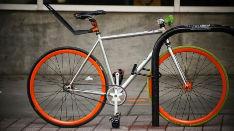 bike locking using technology